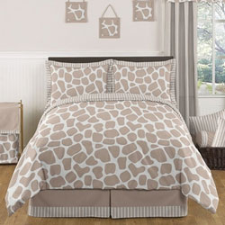 Giraffe Twin/Full Bedding Set