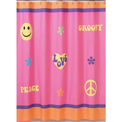 Groovy Girl Shower Curtain