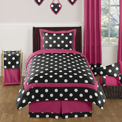 Hot Dot Twin/Full Bedding Collection
