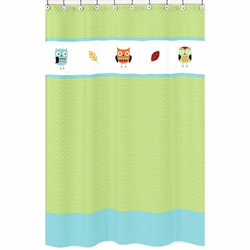 Hooty Shower Curtain