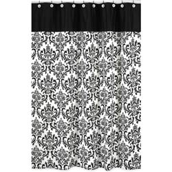 Isabella Damask Shower Curtain