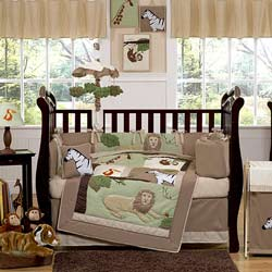Jungle Adventures Crib Bedding