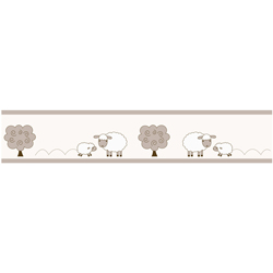 Little Lamb Wallpaper Border