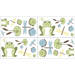 Leap Frog Wall Decal