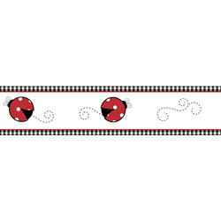 Little Ladybug Wallpaper Border