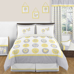 Mod Garden Twin/Full Bedding Set