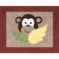 Monkey Accent Rug