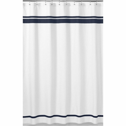 Pristine Hotel Shower Curtain