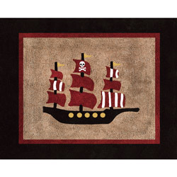 Pirate Accent Rug