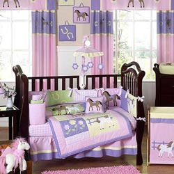 Pretty Pony Crib Bedding