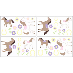 Pretty Pony Wall Decal