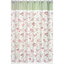 Rileys Roses Shower Curtain