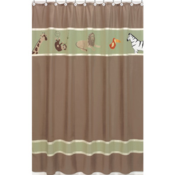 Jungle Adventures Shower Curtain