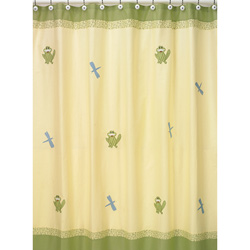 Little Froggy Shower Curtain
