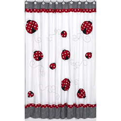 Little Ladybug Shower Curtain