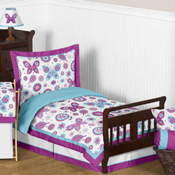 Spring Garden Toddler Bedding Set