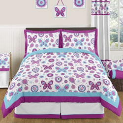 Spring Garden Twin/Full Bedding Set