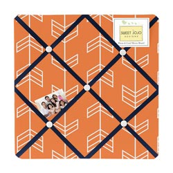 Arrow Orange and Navy Memoboard