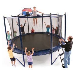 Elite Staged Bounce Combo Trampoline