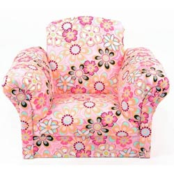 Spring Flowers Kids Chair