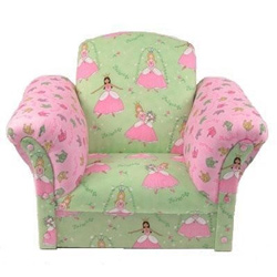 Princess Upholstered Kids Chair