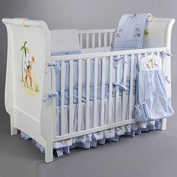 Baby On Safari Crib Set