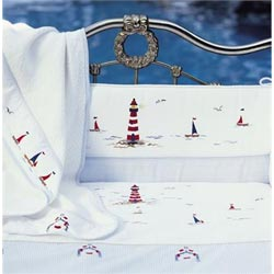 Sailing Away Crib Bedding Set