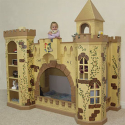 King Richard Norwich Castle Bunk Bed and Playhouse