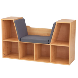 Bookcase with Reading Nook