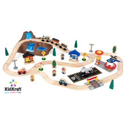 Bucket Top Mountain Train Set