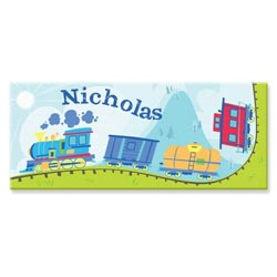 Personalized Train Canvas Art- 10