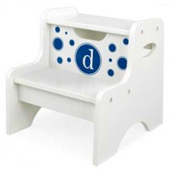 Circles Initial Two Step Stool
