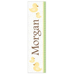 Personalized Ducks Growth Chart