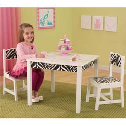 Fun and Funky Table and Chair Set
