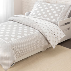 Stars & Polka Dots Toddler Bedding