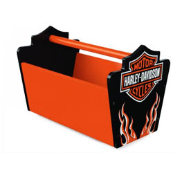 Harley-Davidson Flames Toy Caddy