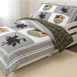 Knights Toddler Bedding
