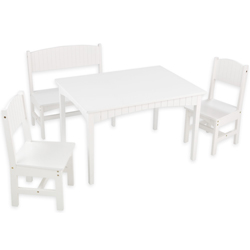 Nantucket Table with Bench and 2 Chairs
