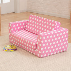 Pink Polka Dots Lil' Lounger