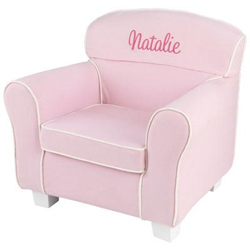 Personalized Pink Toddler Laguna Chair