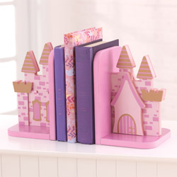 Princess Castle Bookends