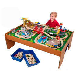 Ride Around Train Set With Table