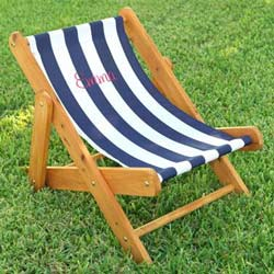 Personalized Outdoor Sling Chair