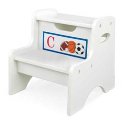 Sports Initial Two Step Stool