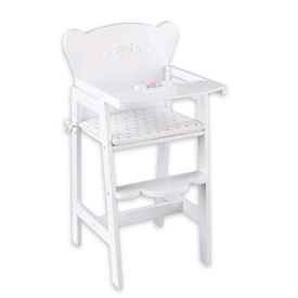 Tiffany Bow Doll High Chair