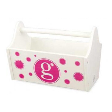 Initial Circles Toy Caddy