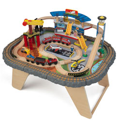 Transportation Station Train Set & Table