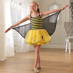 Winged Bumblebee Dress
