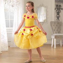 Yellow Rose Princess Dress