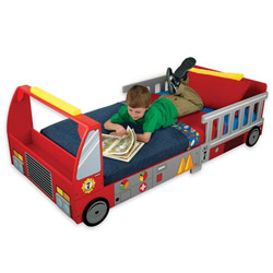 Firetruck Toddler Bed